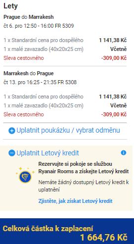 Maroko - Marrákeš z Prahy za 1 665 Kč