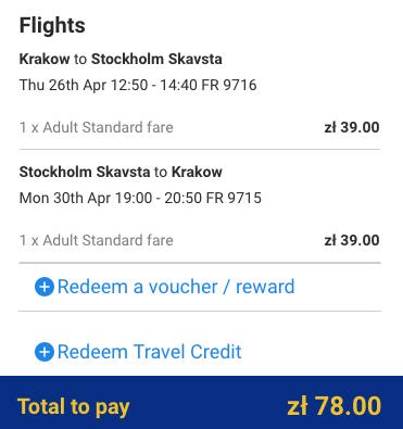 Stockholm na prodloužený víkend za 460 Kč