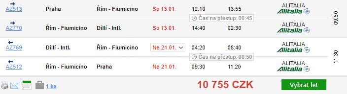 Indie z Prahy - 10755 Kč