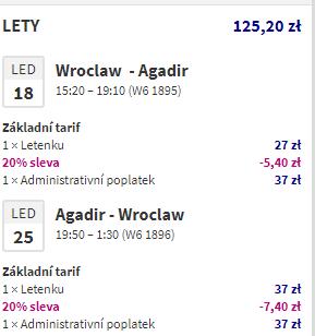 Akce Wizzair: 20 % off - Dubaj, Maroko, Island, Izrael od 696 Kč