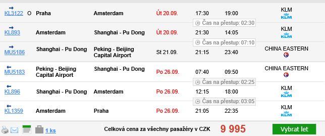Čína - Peking - 9995 Kč