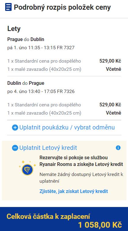 Dublin z Prahy na prodloužený víkend za 1 058 Kč