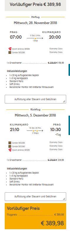 Keňa i Tanzánie z Prahy za 10 120 Kč
