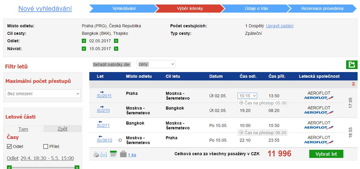 Thajsko z Prahy - 11 996 Kč