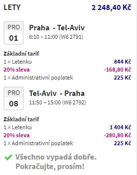 Izrael - Tel Aviv od 1 236 Kč