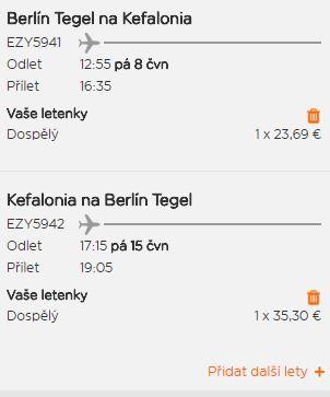 Řecké ostrovy z Berlína od 770 Kč