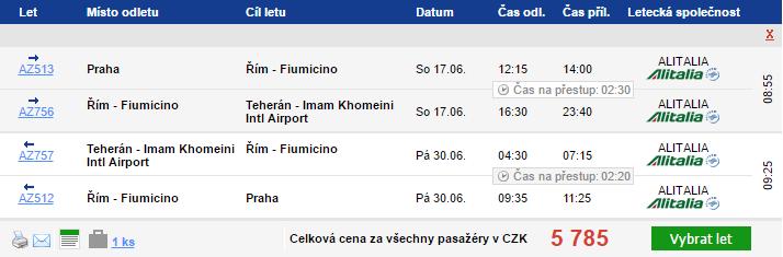 Írán z Prahy na jaře i v létě za 5 785 Kč