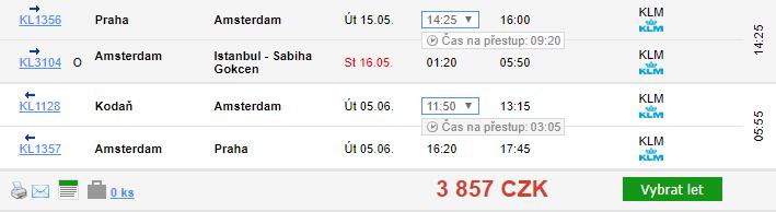 Megatrip do jihovýchodní Asie z Prahy za 9 343 Kč