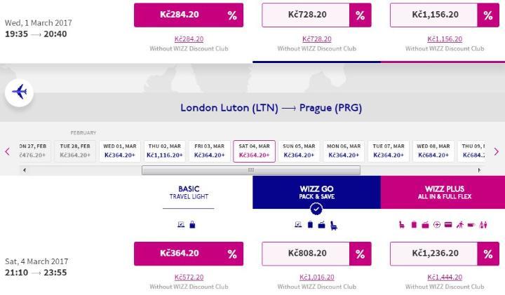 Londýn z Prahy - 648 Kč