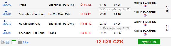 Vietnam - Ho Či Minovo Město - 12 629 Kč