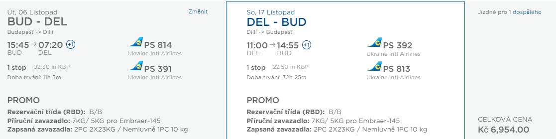 Indie - Dillí z Prahy a Budapešti od 6 954 Kč