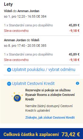 Jordánsko z Prahy i Vídně od 1 890 Kč