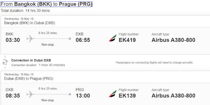 Thajsko a Srí Lanka z Prahy s Emirates od 12 977 Kč