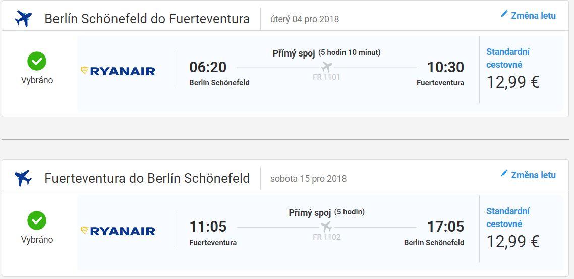 Kanárské ostrovy z Vídně a Berlína od 672 Kč