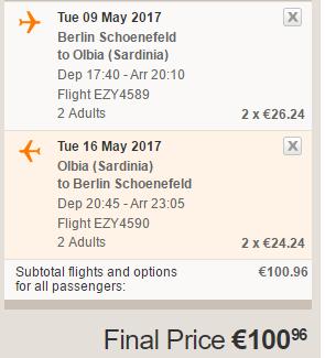 Jarní Sardinie z Berlína od 1 366 Kč