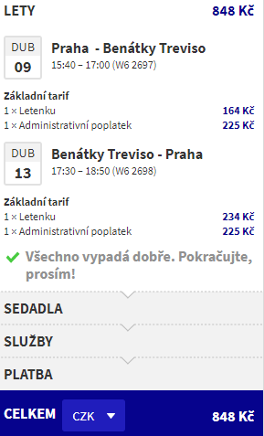 Benátky z Prahy - 848 Kč
