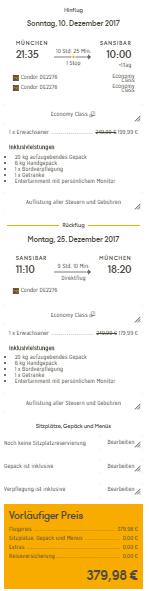 Zanzibar z Mnichova za 9 712 Kč