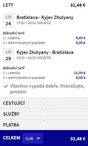 Podzimní Ukrajina za 849 Kč