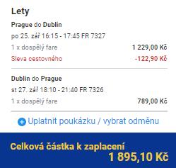 Dublin z Prahy za 1 895 Kč