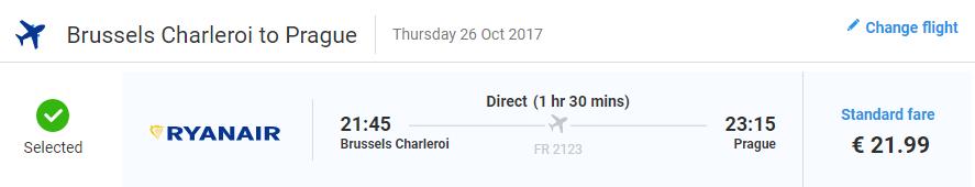 Eurotrip v říjnu za 2 916 Kč