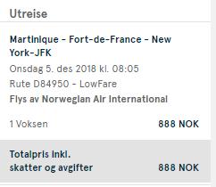 3v1 - Guadeloupe + Martinik + New York z Prahy za 11 955 Kč