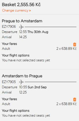 Prodloužený víkend v Amsterdamu z Prahy za 1 278 Kč