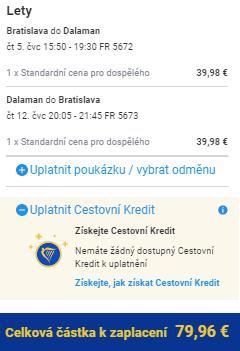 Nová linka: Turecko - Dalaman z Bratislavy za 2 034 Kč