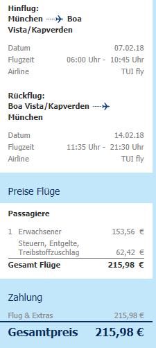Kapverdy z Mnichova za 5 484 Kč