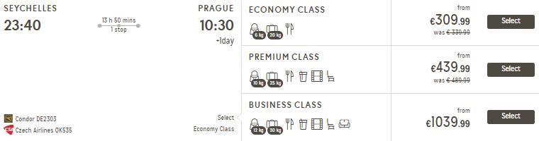 Seychely z Prahy za 14 046 Kč