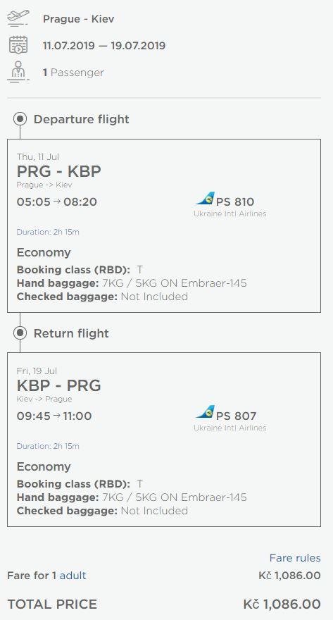 2v1: Kyjev + Oděsa z Prahy za 1 510 Kč