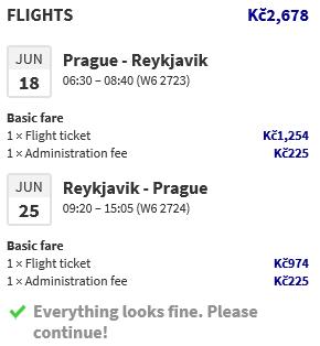 Island z Prahy za 2 678 Kč