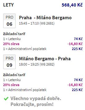 Akce Wizz: Bergamo, Londýn či zimní Island