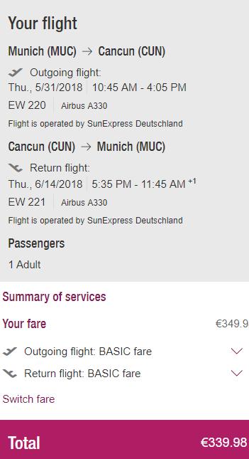 Mexiko - Cancún z Mnichova za 8 674 Kč