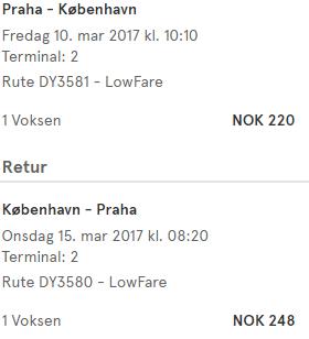 Norsko i Dánsko z Prahy od 1 431 Kč