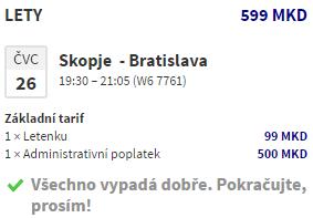 Napříč Balkánem z Bratislavy za 530 Kč