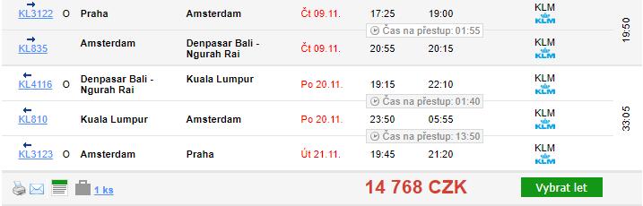 Indonésie - Bali z Prahy za 14 768 Kč