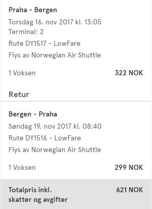 Prodloužený víkend v Norsku z Prahy za 1 726 Kč