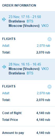 Rusko - Moskva za 1 574 Kč