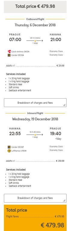 Kuba - Havana z Prahy a Vídně za 12 418 Kč